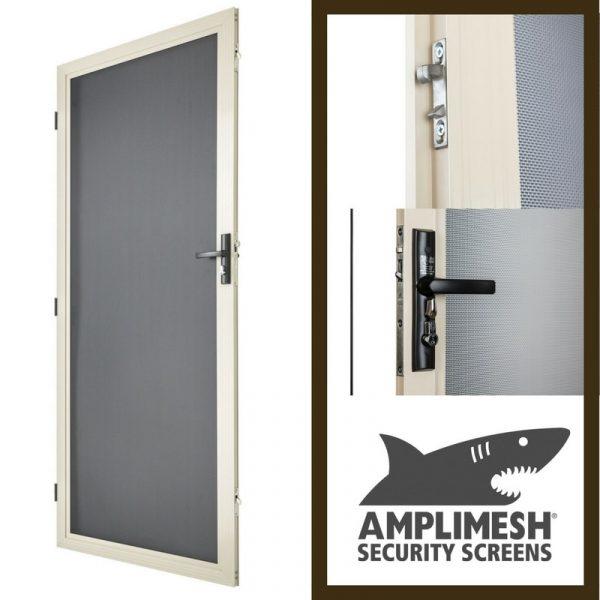 Security Doors - Image of Amplimesh Security Screen Doors